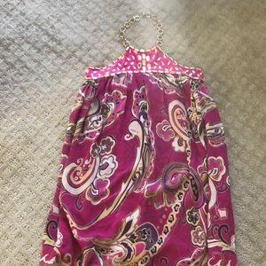 Arden B shift mini dress